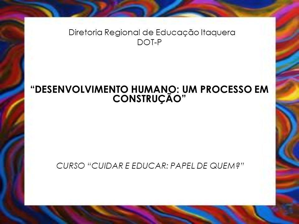 Diretoria Regional de Educação Itaquera DOT-P