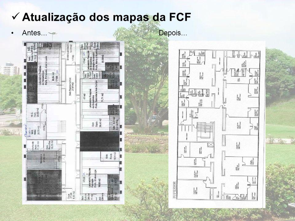 Atualização dos mapas da FCF