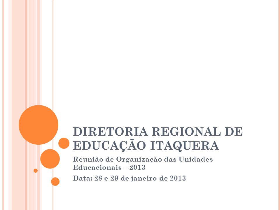 DIRETORIA REGIONAL DE EDUCAÇÃO ITAQUERA