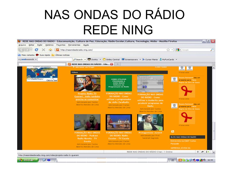 NAS ONDAS DO RÁDIO REDE NING