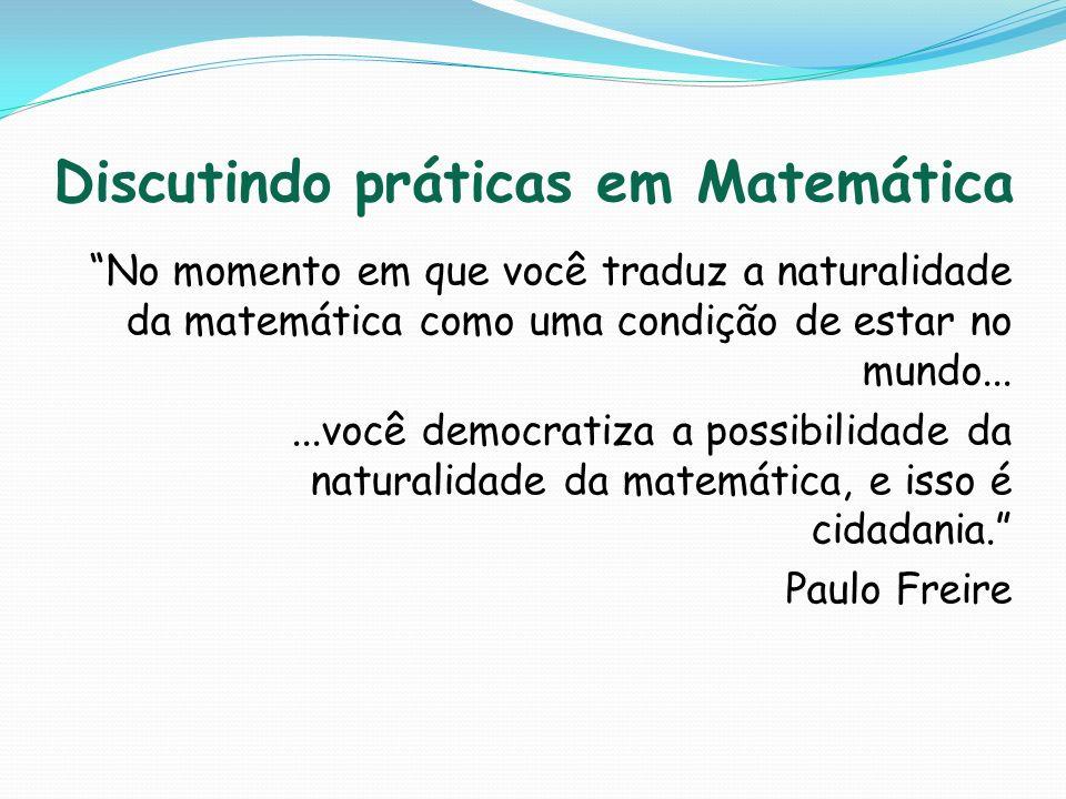 Discutindo práticas em Matemática
