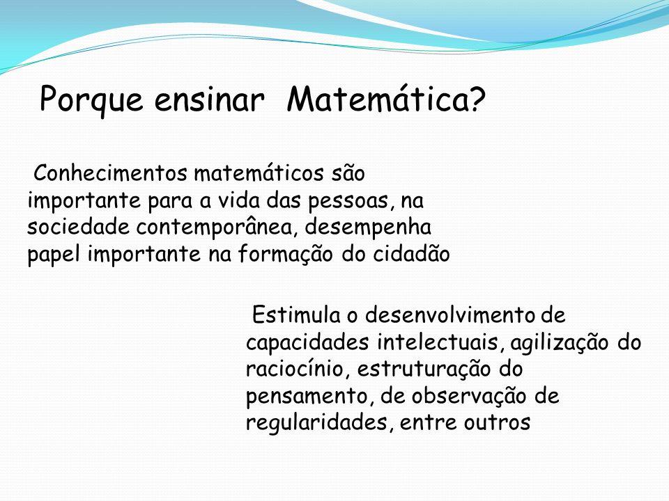 Porque ensinar Matemática