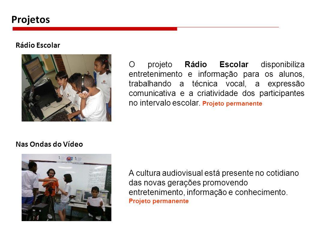 Projetos Rádio Escolar