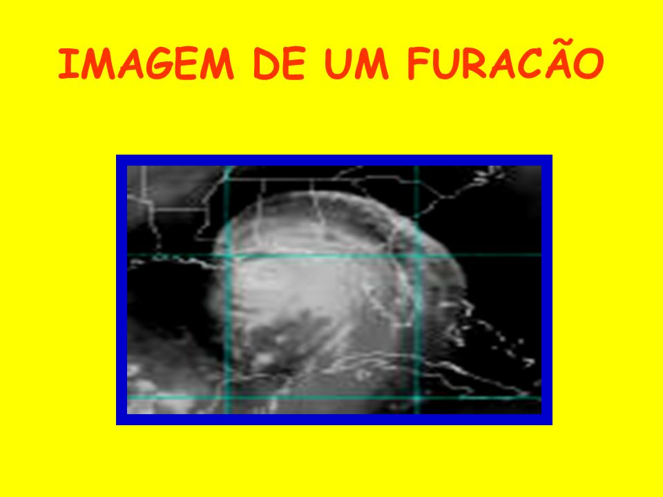 IMAGEM DE UM FURACÃO