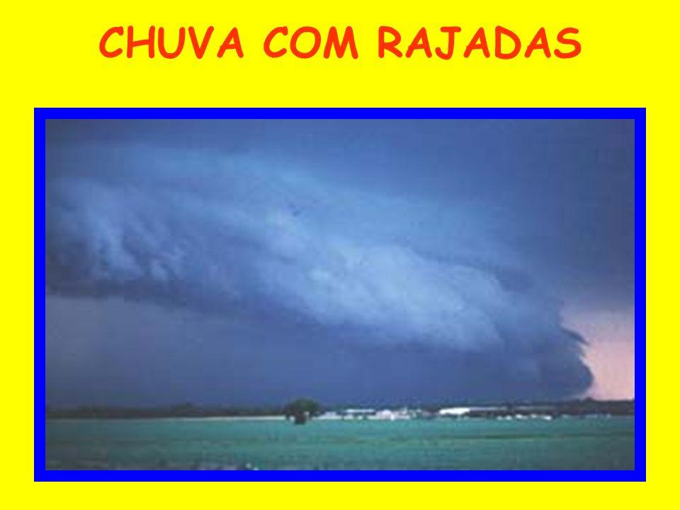 CHUVA COM RAJADAS