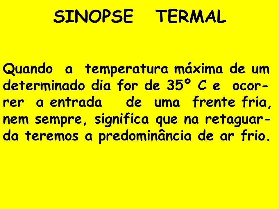 SINOPSE TERMAL