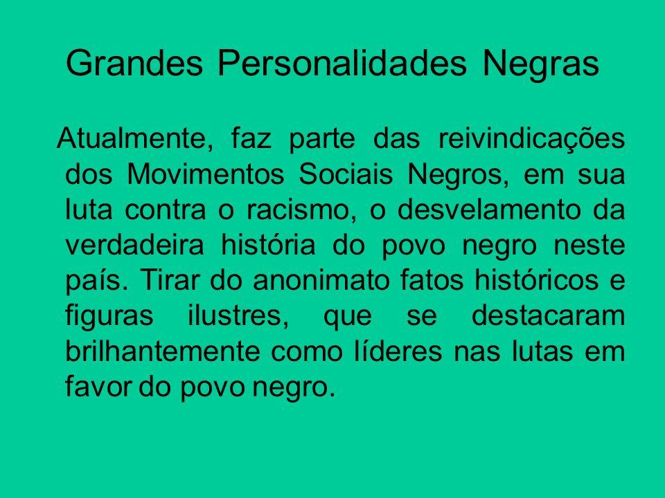Grandes Personalidades Negras