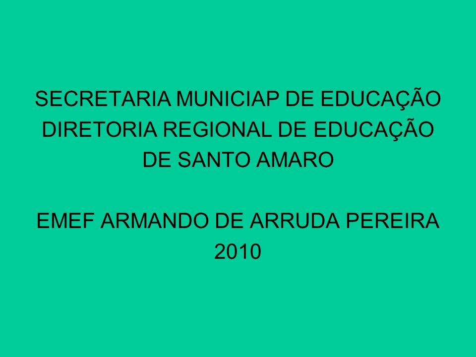 SECRETARIA MUNICIAP DE EDUCAÇÃO DIRETORIA REGIONAL DE EDUCAÇÃO