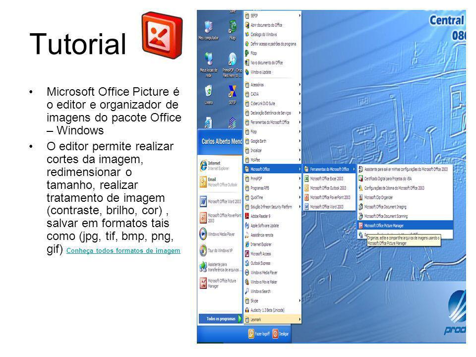 Tutorial Microsoft Office Picture é o editor e organizador de imagens do pacote Office – Windows.