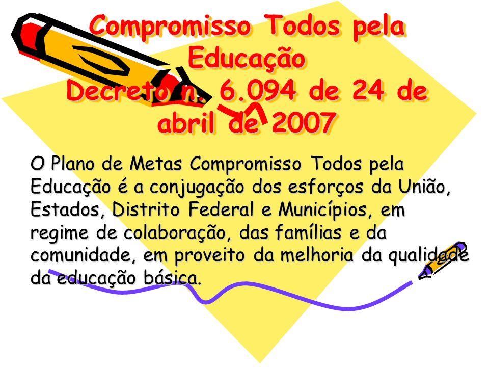Compromisso Todos pela Educação Decreto n. 6
