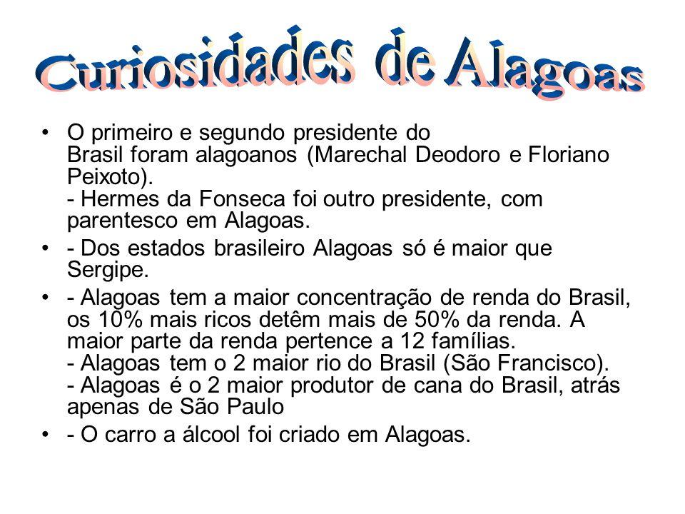 Curiosidades de Alagoas