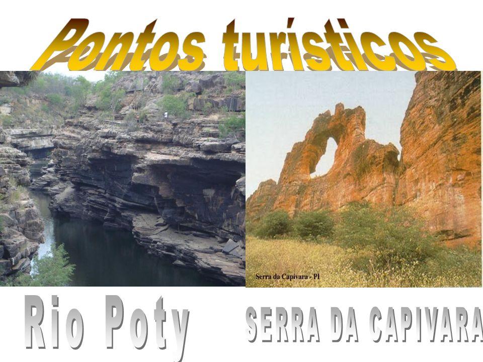 Pontos turísticos Rio Poty SERRA DA CAPIVARA