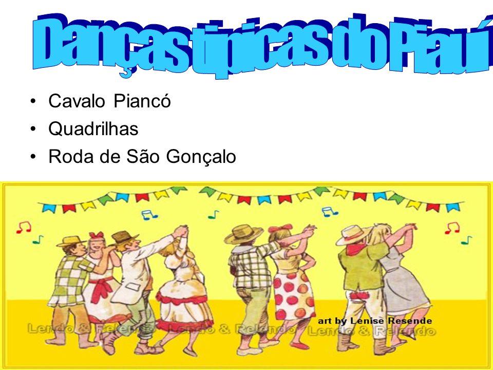 Danças tipicas do Piauí