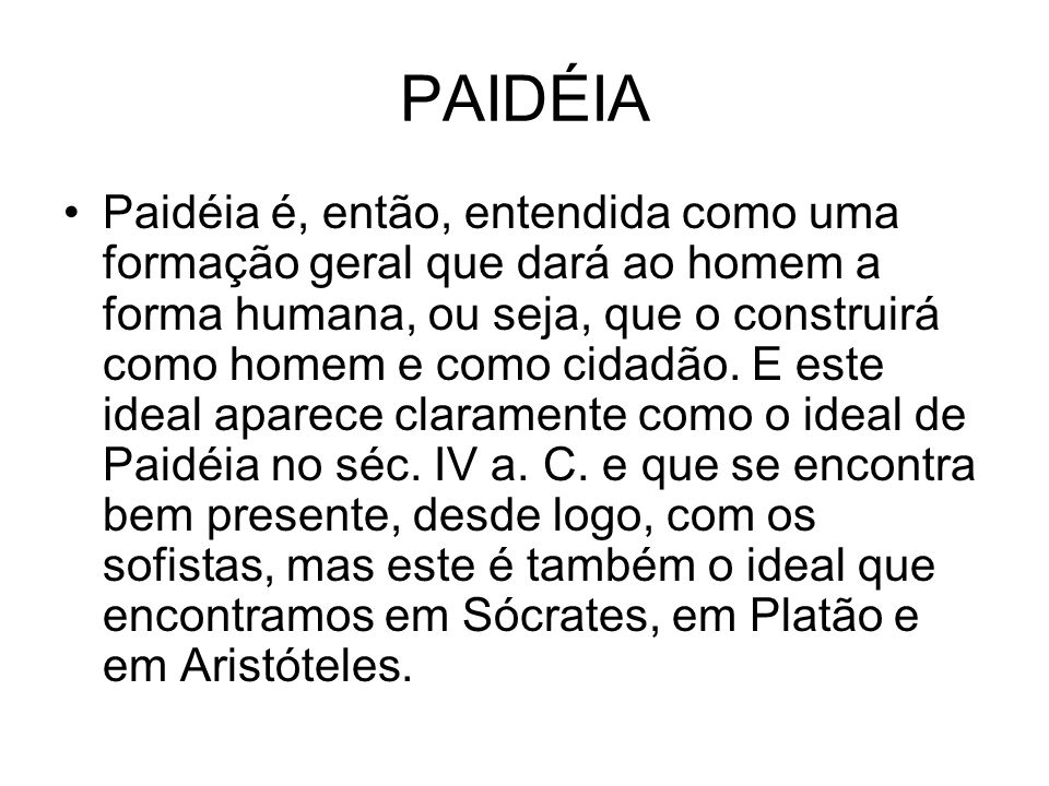 PAIDÉIA