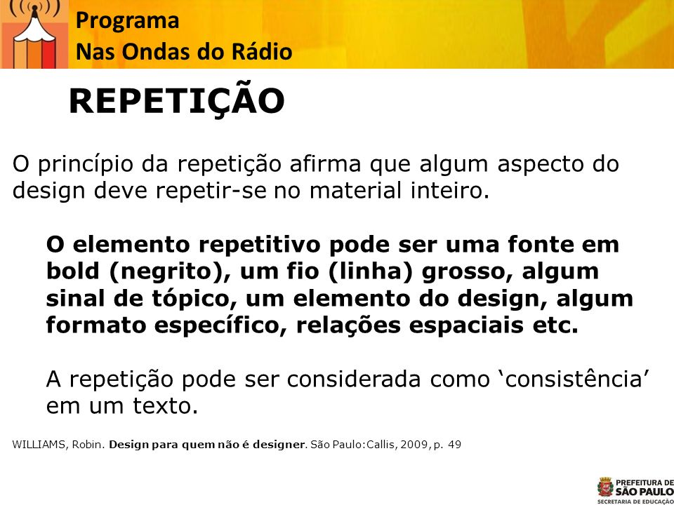 REPETIÇÃO Programa Nas Ondas do Rádio