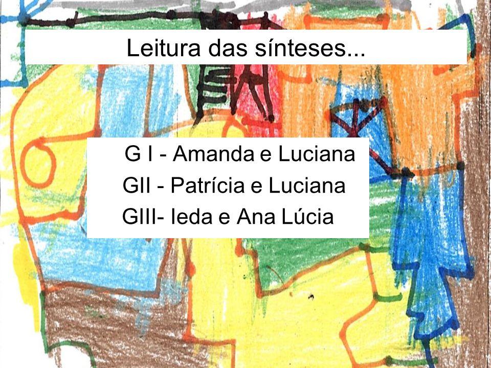 GII - Patrícia e Luciana
