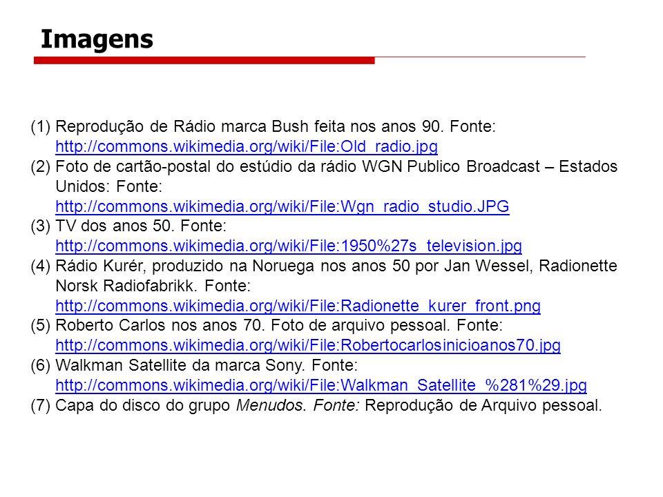 Imagens Reprodução de Rádio marca Bush feita nos anos 90. Fonte: http://commons.wikimedia.org/wiki/File:Old_radio.jpg.