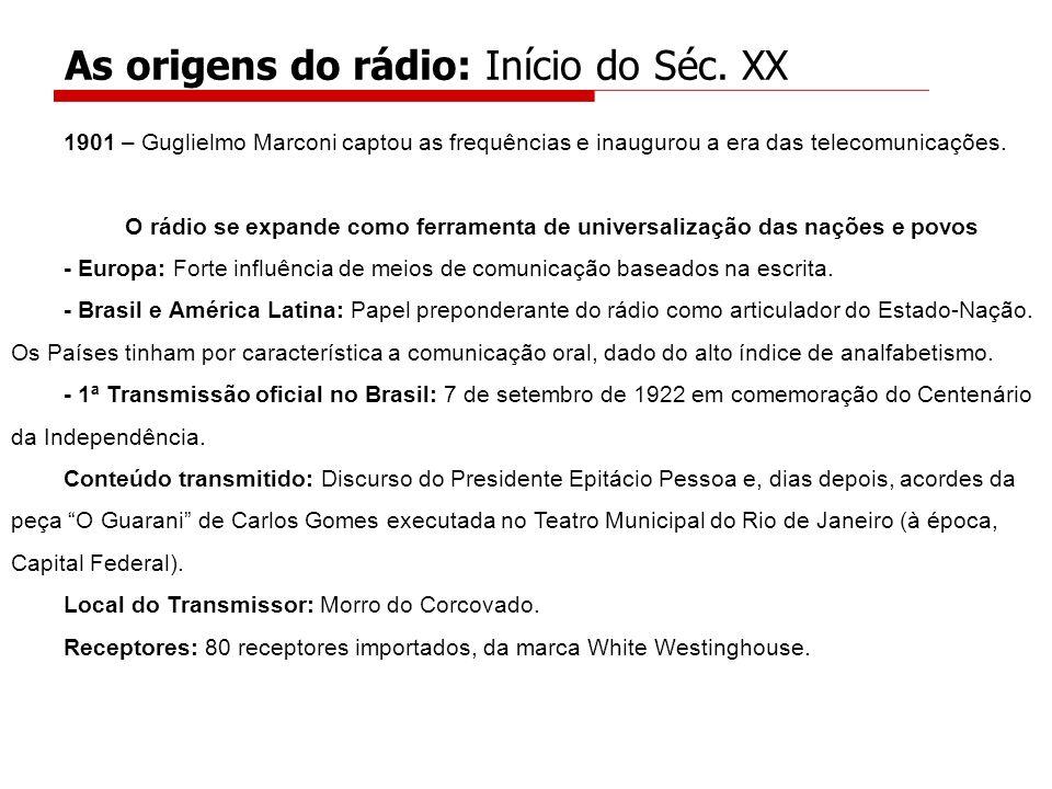 As origens do rádio: Início do Séc. XX
