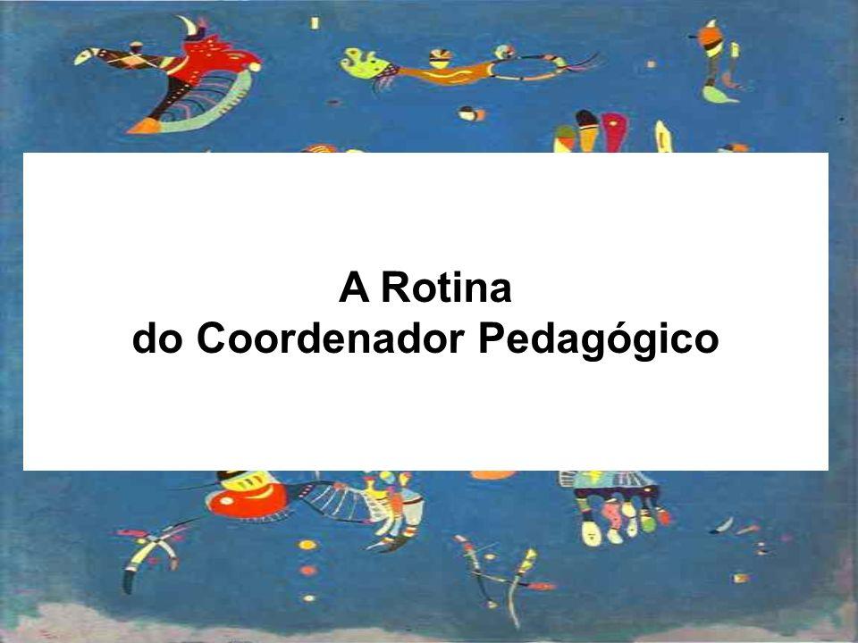 do Coordenador Pedagógico