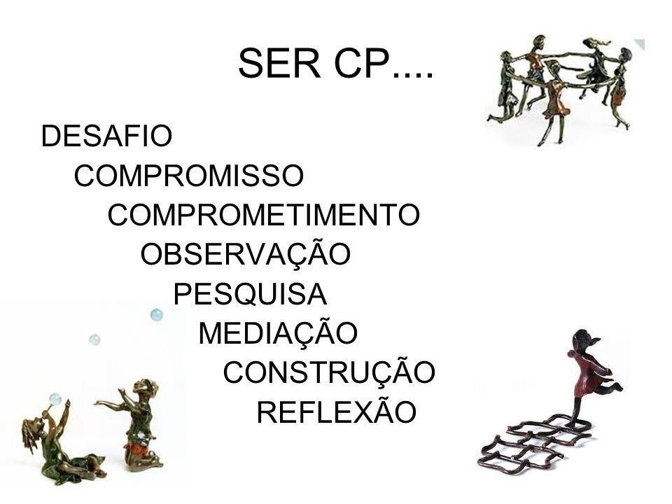 SER CP.... DESAFIO COMPROMISSO COMPROMETIMENTO OBSERVAÇÃO PESQUISA