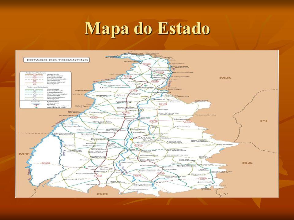 Mapa do Estado
