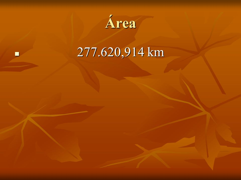 Área 277.620,914 km