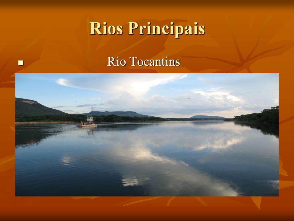 Rios Principais Rio Tocantins