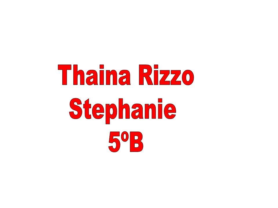 Thaina Rizzo Stephanie 5ºB