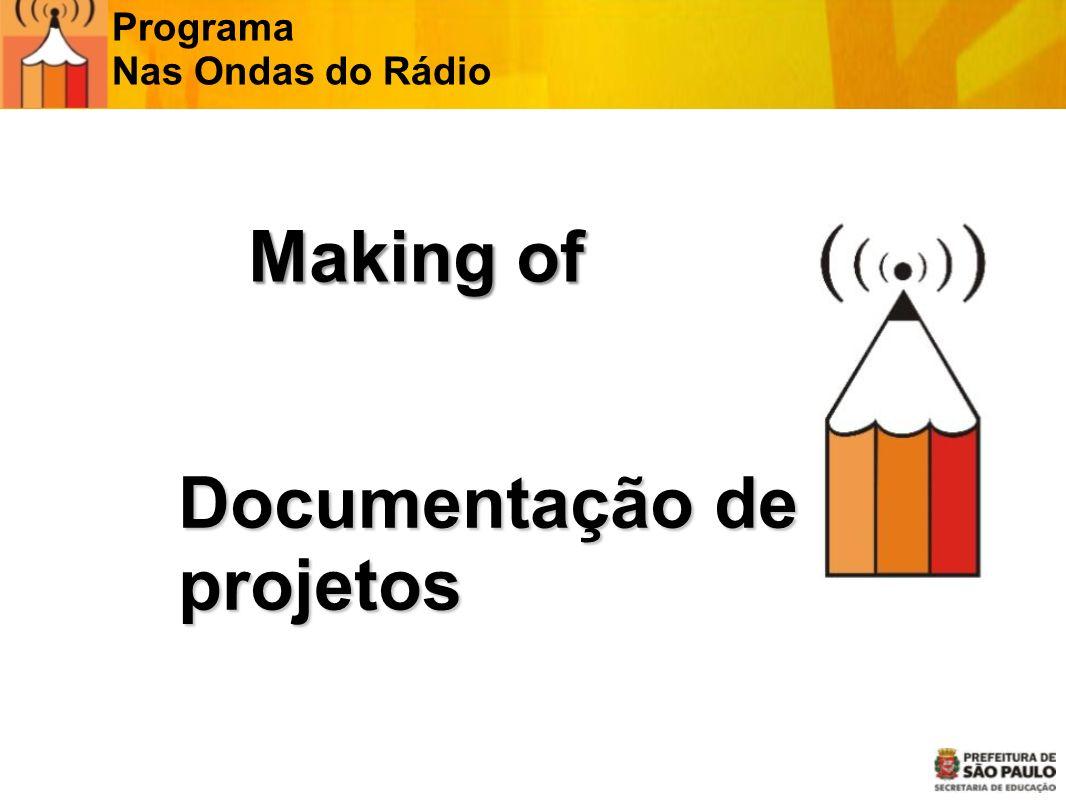 Documentação de projetos