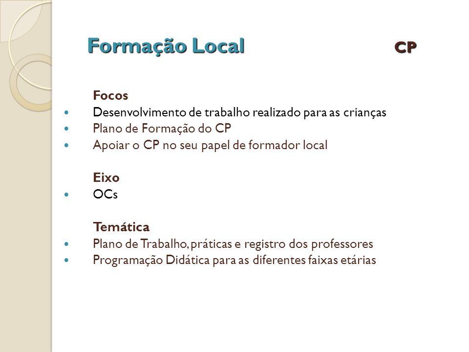 Formação Local CP Focos