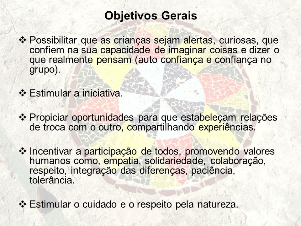 Objetivos Gerais