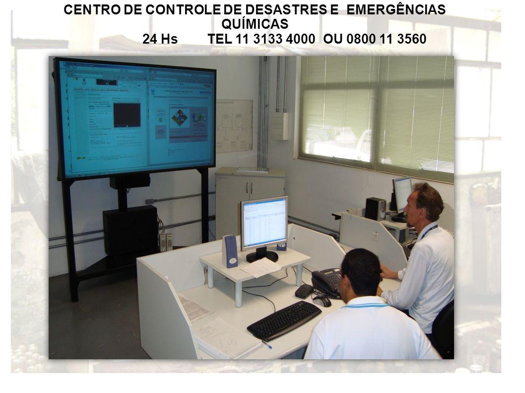 CENTRO DE CONTROLE DE DESASTRES E EMERGÊNCIAS QUÍMICAS