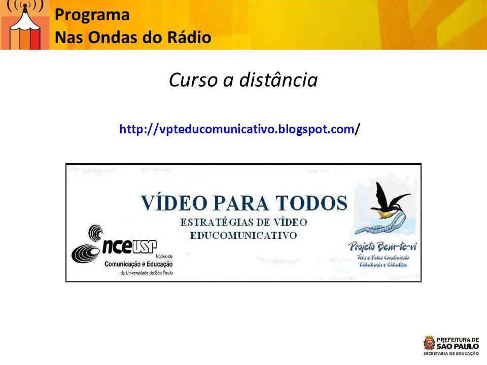 Curso a distância Programa Nas Ondas do Rádio