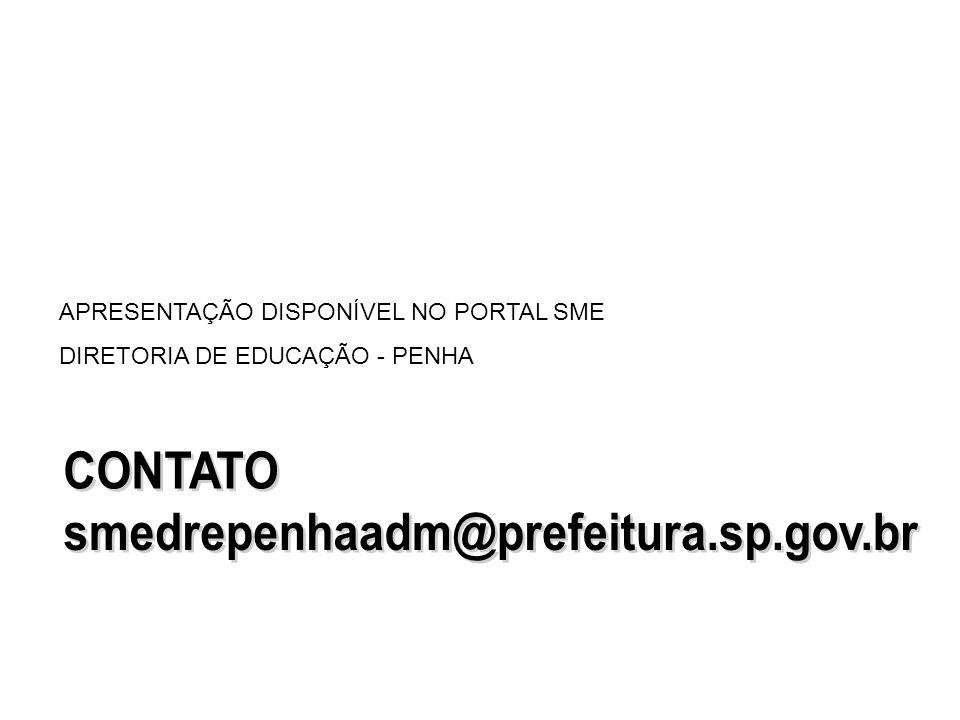 CONTATO smedrepenhaadm@prefeitura.sp.gov.br