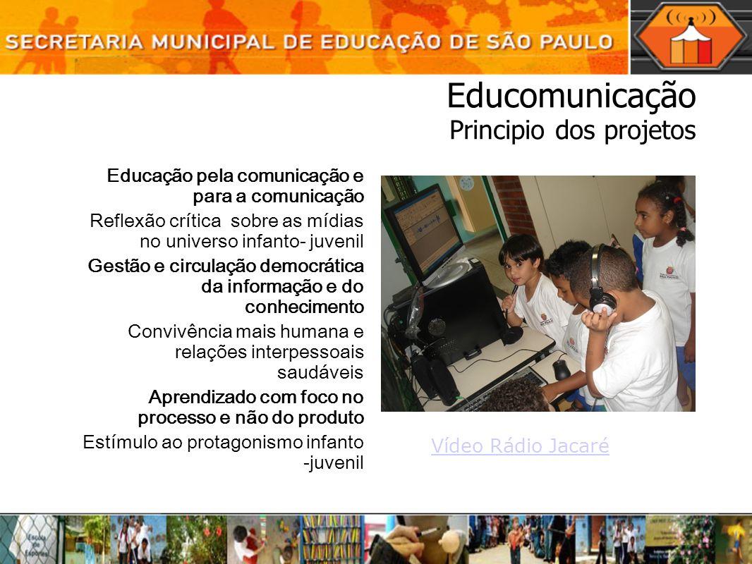 Educomunicação Principio dos projetos