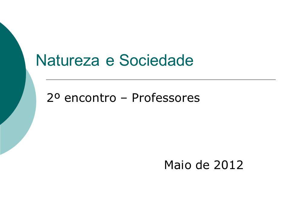 2º encontro – Professores Maio de 2012