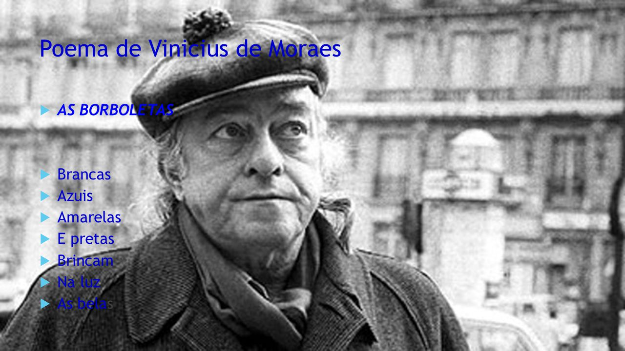 Poema de Vinicius de Moraes