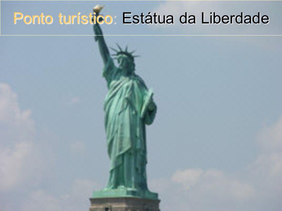 Ponto turístico: Estátua da Liberdade