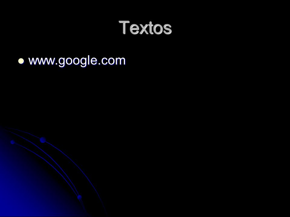 Textos www.google.com