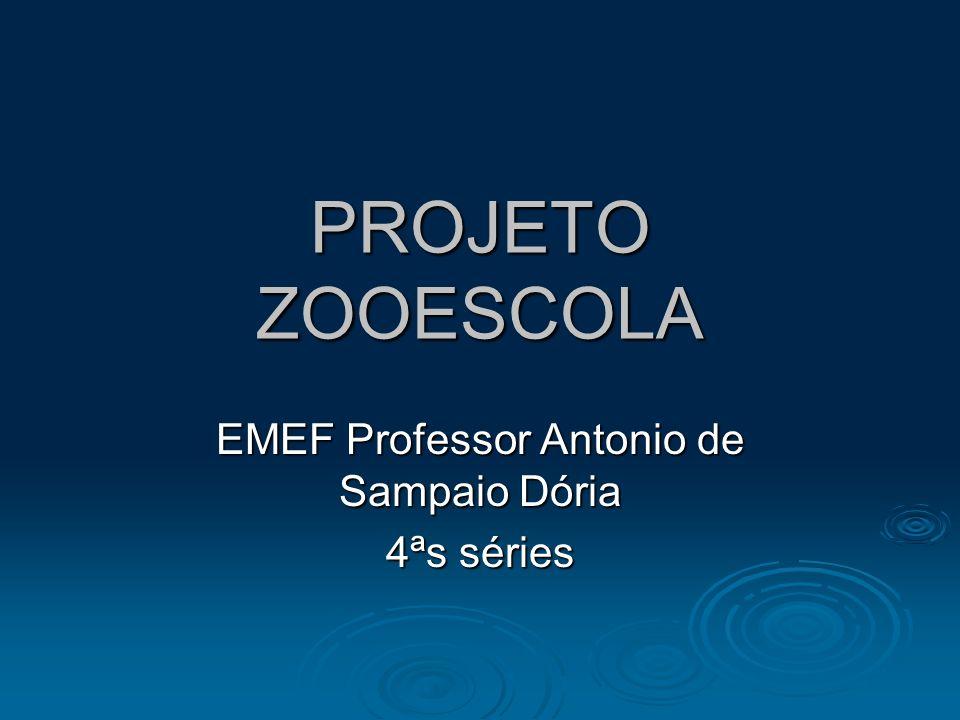EMEF Professor Antonio de Sampaio Dória 4ªs séries