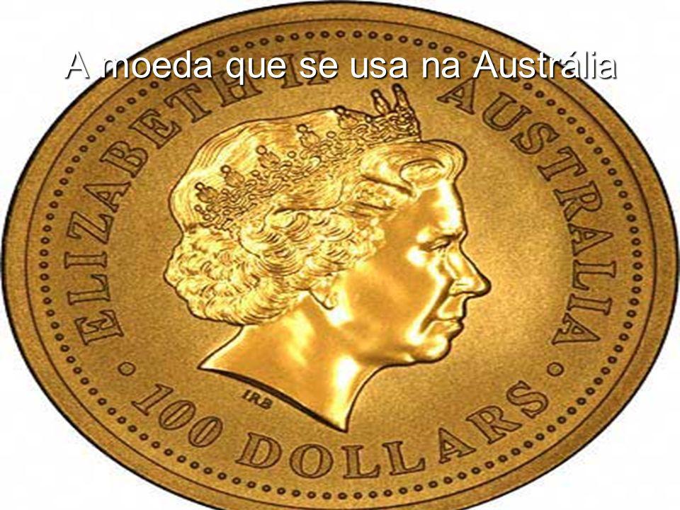 A moeda que se usa na Austrália