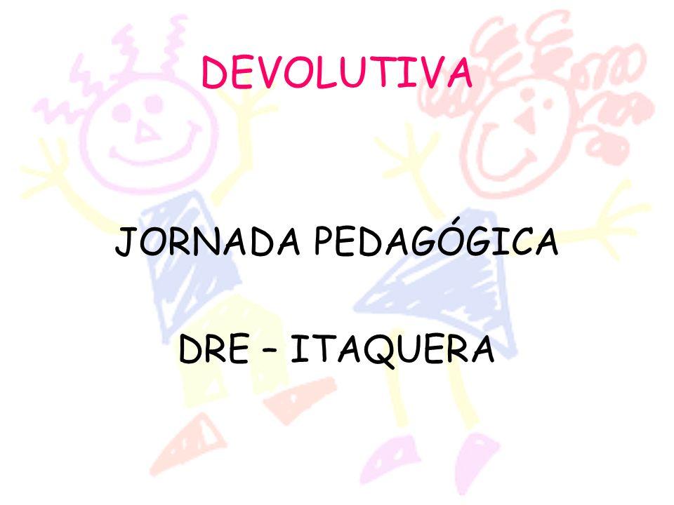 JORNADA PEDAGÓGICA DRE – ITAQUERA