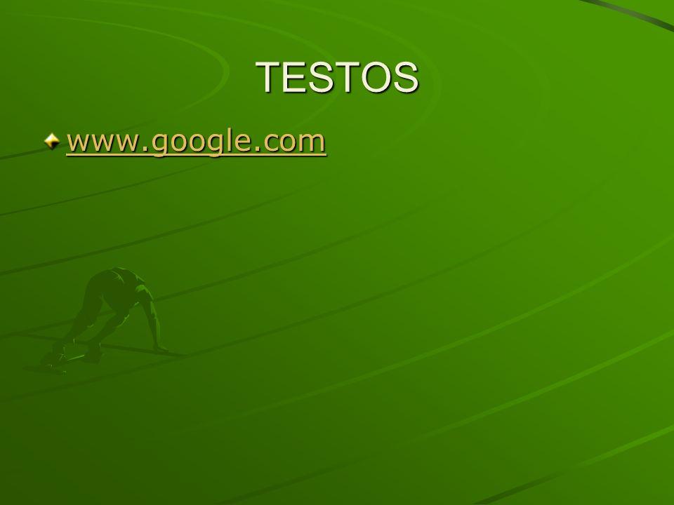 TESTOS www.google.com