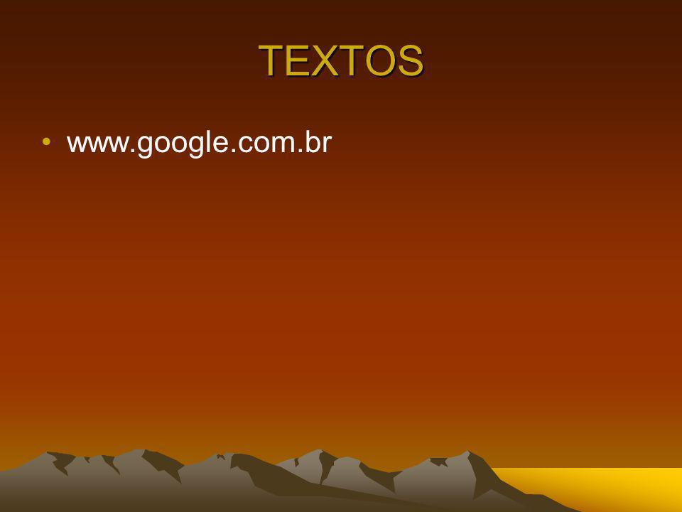 TEXTOS www.google.com.br