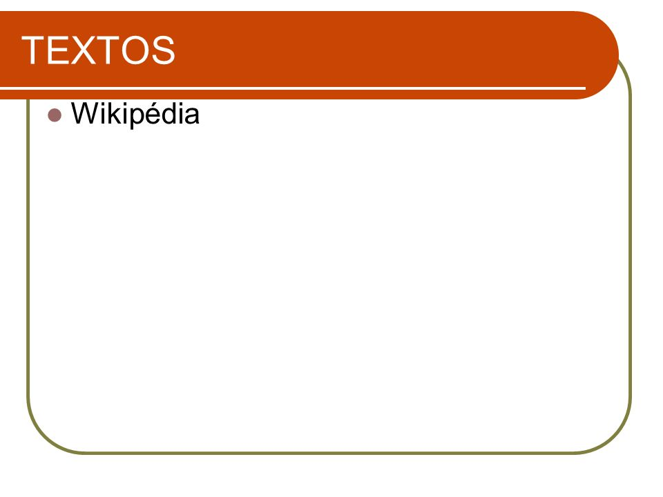 TEXTOS Wikipédia