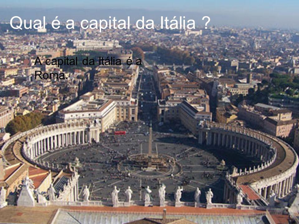 Qual é a capital da Itália