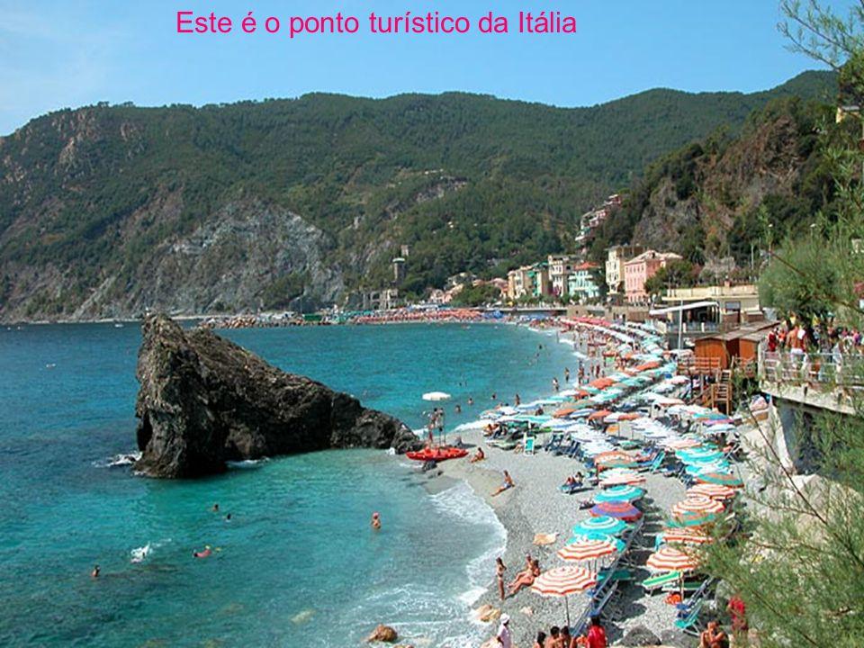 Este é o ponto turístico da Itália
