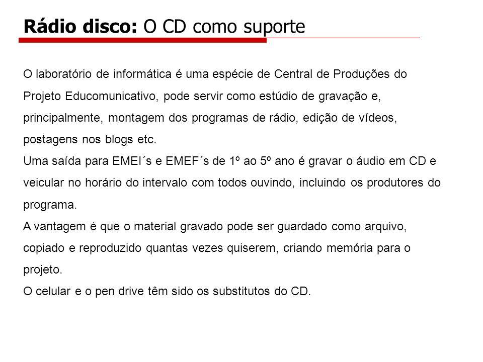 Rádio disco: O CD como suporte