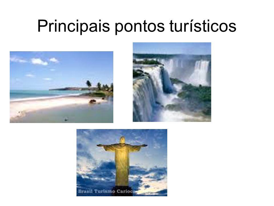 Principais pontos turísticos