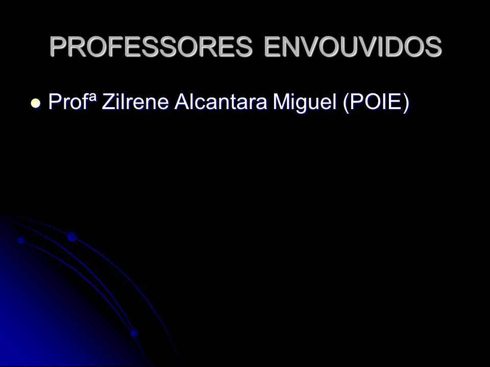 PROFESSORES ENVOUVIDOS